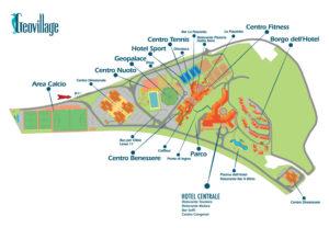pianta - planimetria - geovillage