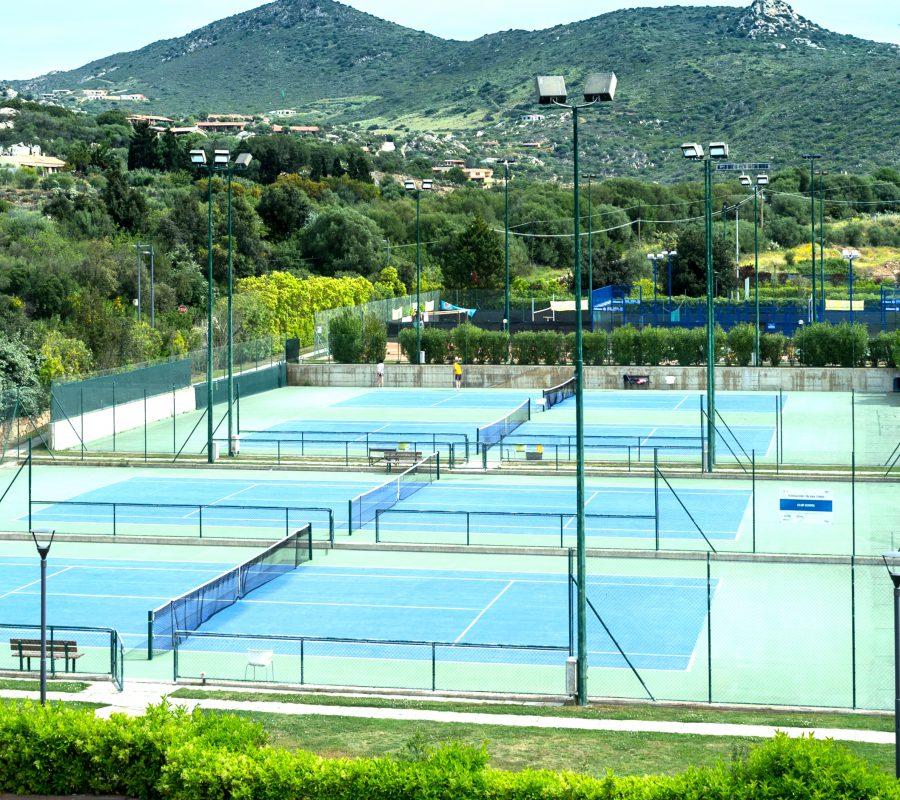 Centro tennis Green Set